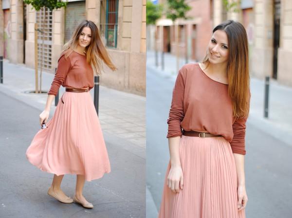skirt jumper sweet soft