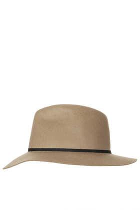 Clean Edge Fedora Hat - Topshop