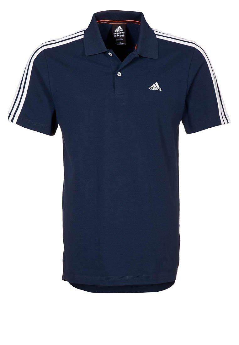 adidas Performance ESS 3S - Polo shirt - blue - Zalando.co.uk