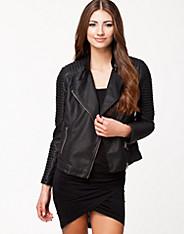 Stone Biker Jacket - Nly Trend - Zwart - Jassen - Kleding - Vrouw - Nelly.com