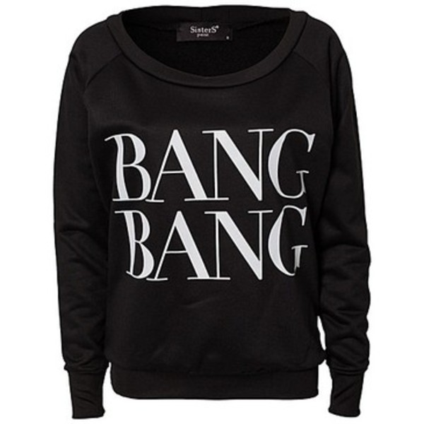 sweater black sweatshirt bag