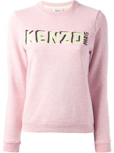 Kenzo Printed Sweatshirt - Dolci Trame - Farfetch.com