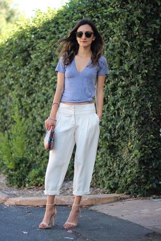 pants t-shirt shoes bag jewels sunglasses frankie hearts fashion