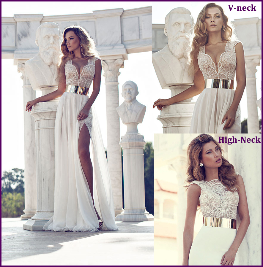 Charming Sexy All over Beading Corset Two Style Neckline Optional Cap Sleeve Chiffon Evening Party Dress Prom Dresses 2014 Y0421-in Prom Dresses from Apparel & Accessories on Aliexpress.com