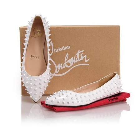 Sapatilha Christian Louboutin Pigalle Spikes - BRANCA - Rosa   Pink