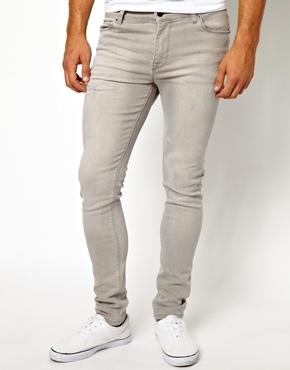 Grey Skinny Jeans   ASOS