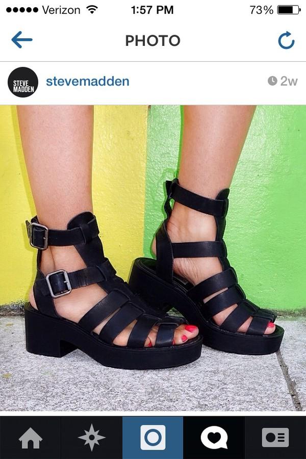shoes black sandals black sandals