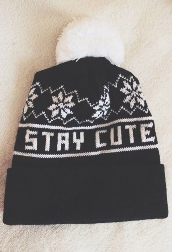 hat beanie staycute winter outfits