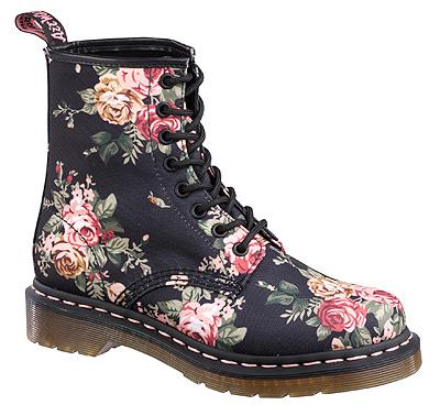 Dr. Martens Women's 1460 W Victorian Flowers Boot Style: DMR11821016
