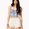Crocheted daisy shorts | forever21 - 2061821950