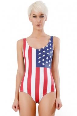 USA One-piece Bathing Suit, Wholesale One-piece Bathing Suit