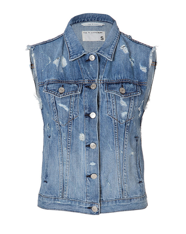 jacket vest denim jacket