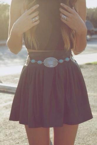 skirt grey skater skirt colour aztec vibrant cloth bikini gorgeous body  cotton stitch yellow shirt