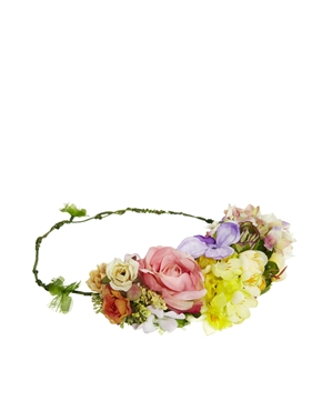 ASOS | Limited Edition Summer Garden Hair Garland at ASOS