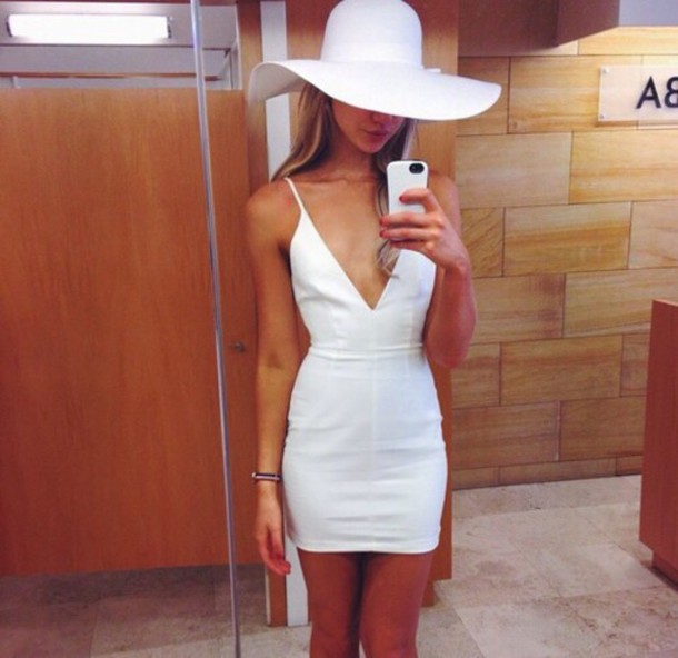 dress white dress clothes