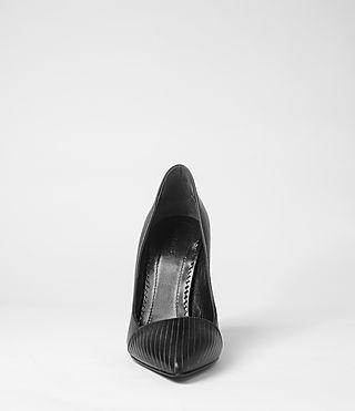 Womens Kara Pump Heel (Black Polido)   ALLSAINTS.com