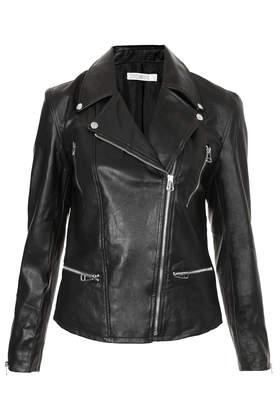 **Super Biker PU Leather Jacket by Jovonnista - Jackets & Coats  - Clothing  - Topshop