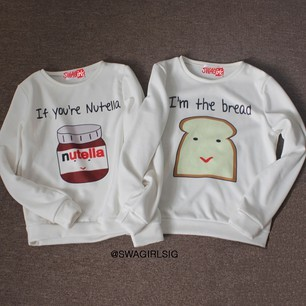 I'M THE BREAD FLEECE SWEATER on The Hunt
