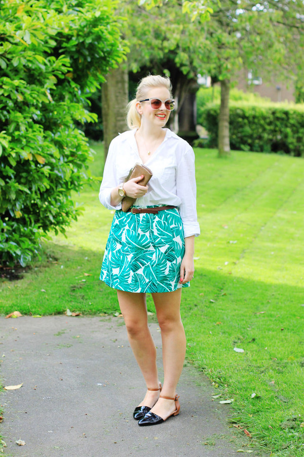 a little bird told me skirt shirt shoes bag jewels belt sunglasses