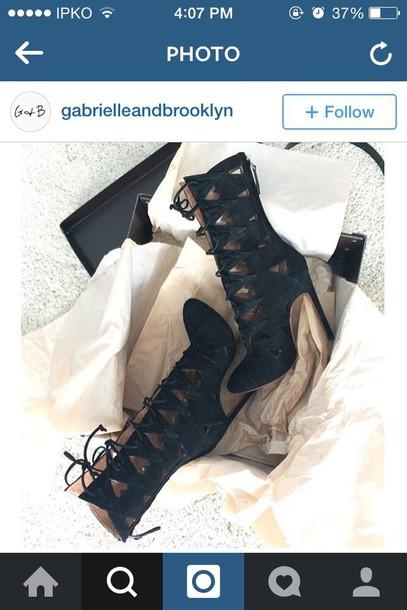 shoes black lace shoes heels