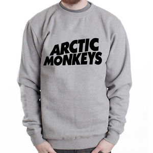 Arctic Monkeys Logo 2 Rock Band Music Grey Heavy Blend Crewneck Sweatshirt | eBay