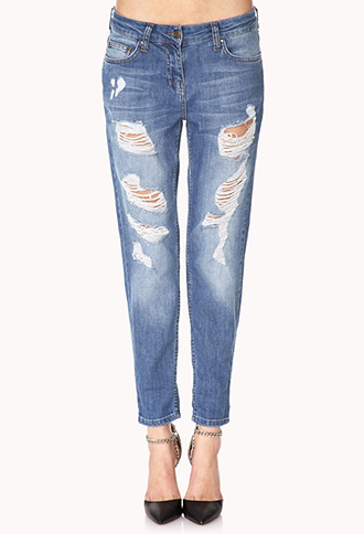 Favorite Ripped Jeans | FOREVER21 - 2000071840