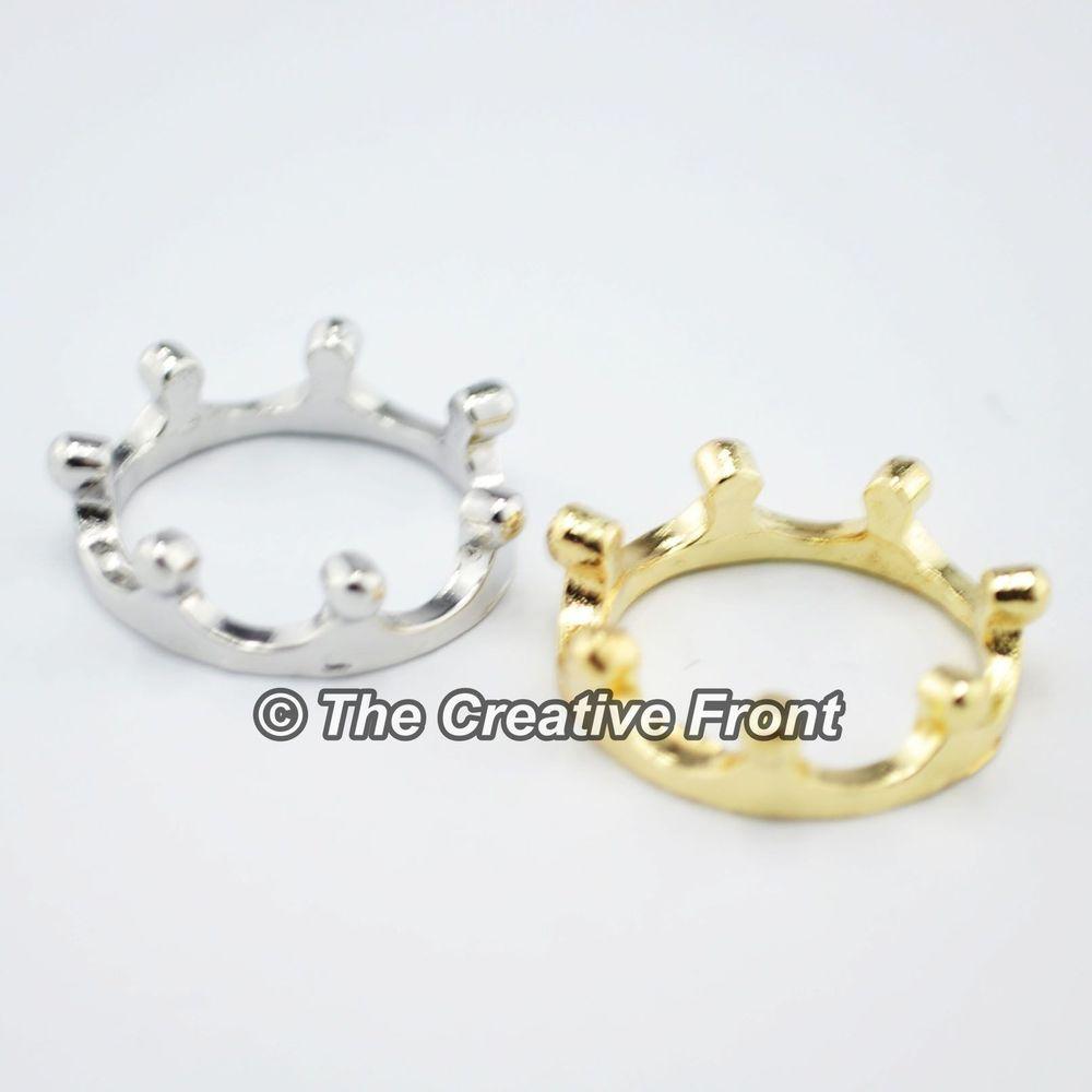 TIARA CROWN QUEEN / PRINCESS RING - Beautiful Women's Jewellery - NEW | eBay