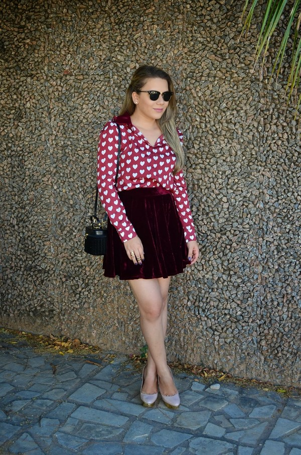 blouse persunmall persunmall blouse clothes red blouse red