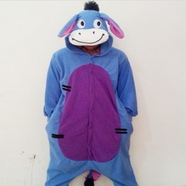 coat kigurumi blue donkey onesie animal onesies pajamas kigurumi animal onesies
