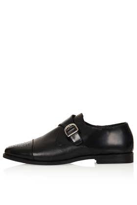 KAVA Brogue Monk Shoes - Flats  - Shoes  - Topshop