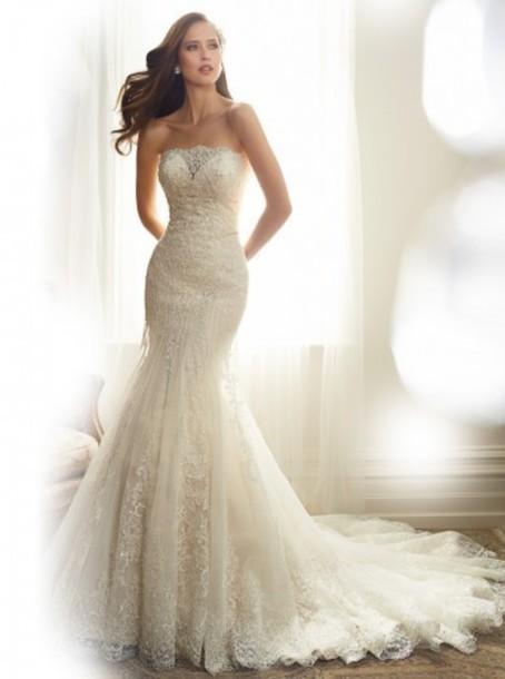 dress perfect wedding dress beautiful gorgeous