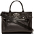 Versace - Black Nappa Leather Emblem Tote | SSENSE