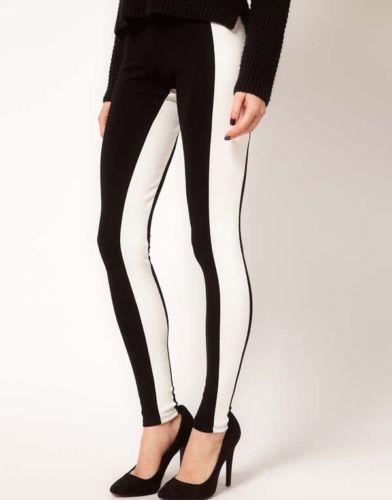 Nasty Gal Inspired BLOGGER High Quality Fashion Black Pants Leggings Tights M   eBay