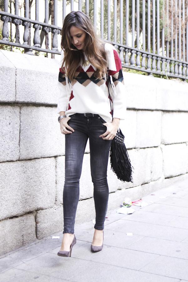 lady addict jeans sweater