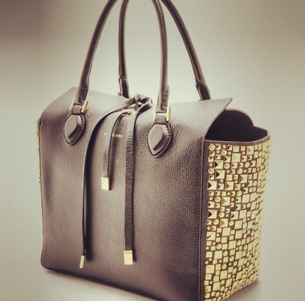 bag purse taupe