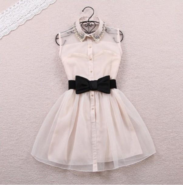 white dress formal dress collared dress dress