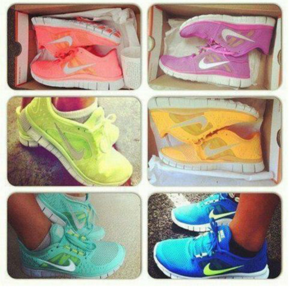 shoes nike nike free run hot punch nikes nice nike free run hot punch