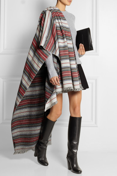 Isabel Marant | Jump striped wool and cashmere-blend scarf | NET-A-PORTER.COM