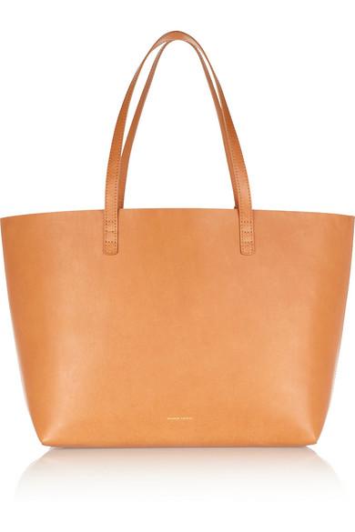 Mansur Gavriel|Large leather tote|NET-A-PORTER.COM
