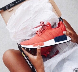 shoes nike sneakers red