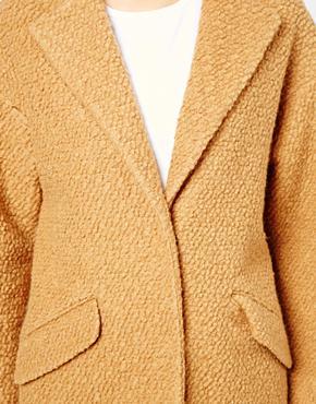 ASOS | ASOS Textured Longline Coat at ASOS