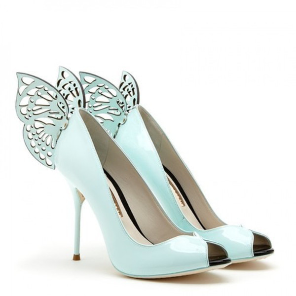 shoes heels shoes crystal pumps heels hight heels red sole shiny sparkle high heels wedding shoes blue wedding accessory