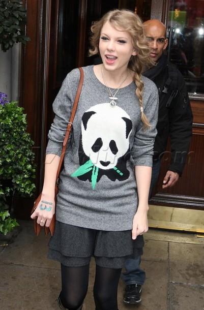 sweater panda jumper taylor swift