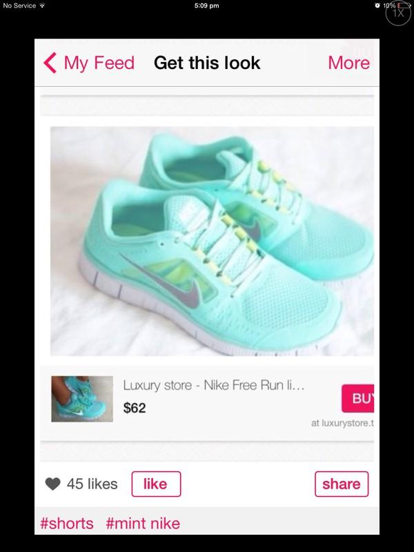 shoes aqua coloured