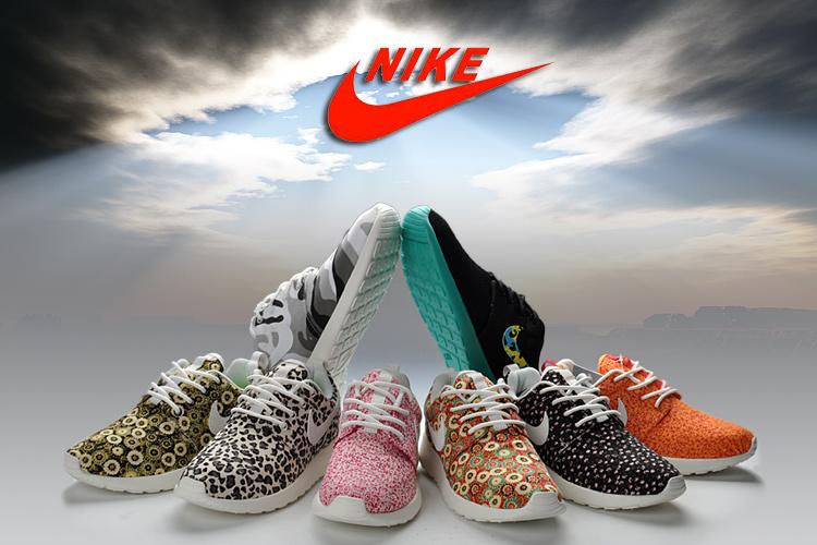 Cheap Sale Women's 2013 Nike Roshe Run Leopard Shoes - Women's Roshe Run Shoes