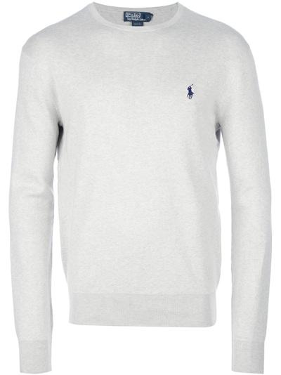 Polo Ralph Lauren Crew Neck Sweater - Al Duca D'aosta - Farfetch.com