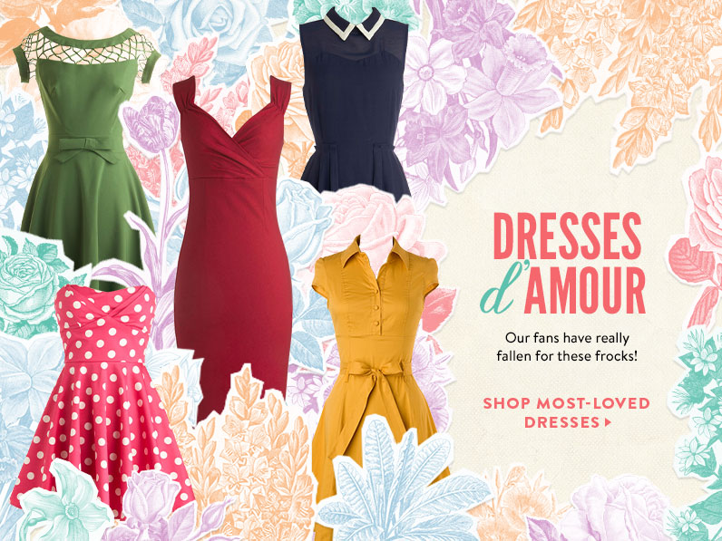 Cute, Vintage-Style, Retro & Indie Clothing, Shoes & Decor | ModCloth