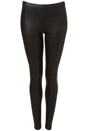 Wet Look Leggings - Leggings  - Clothing  - Topshop