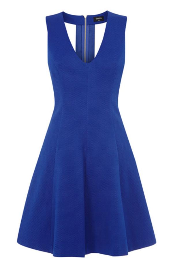 dress textured jacquard skater dress