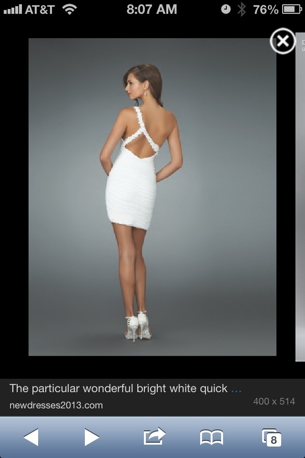 dress white formal prom